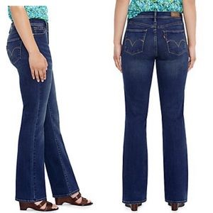 Levis perfectly slimming 512 bootcut jeans